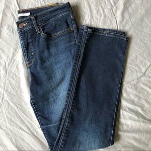Levi's dark wash shaping straight Jean size 30